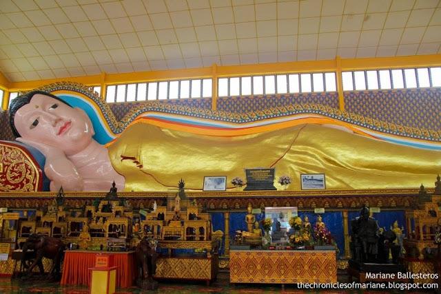Wat Chayamangkalaram buddha
