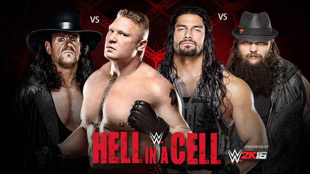 hell in a cell 2015 results