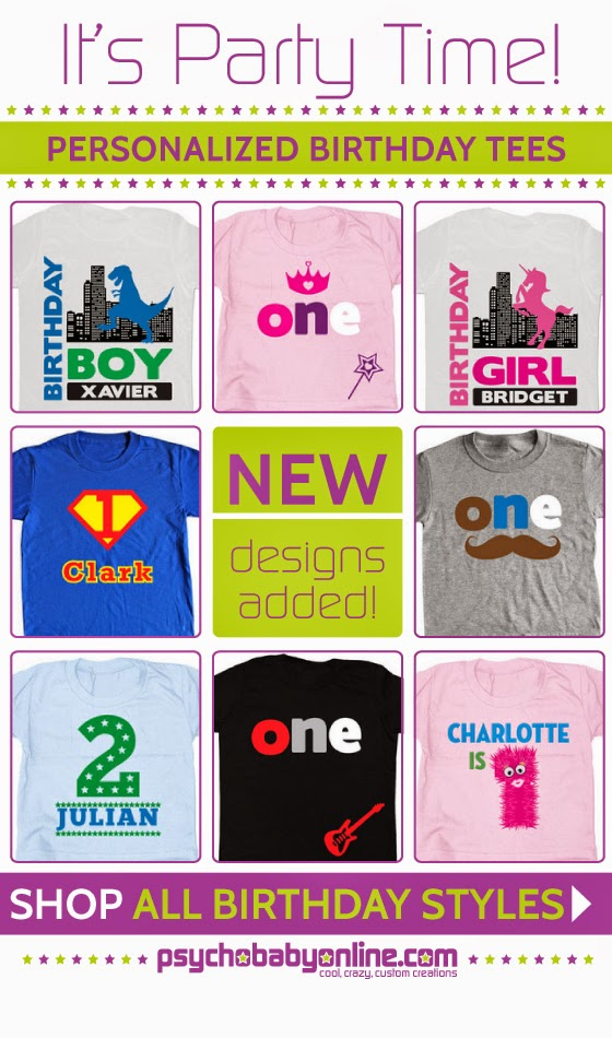 Shop All Personalized Birthday T-Shirts For Kids