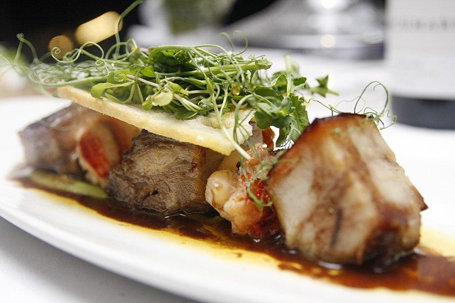 71 Gramercy Restaurant Pork and Lobster