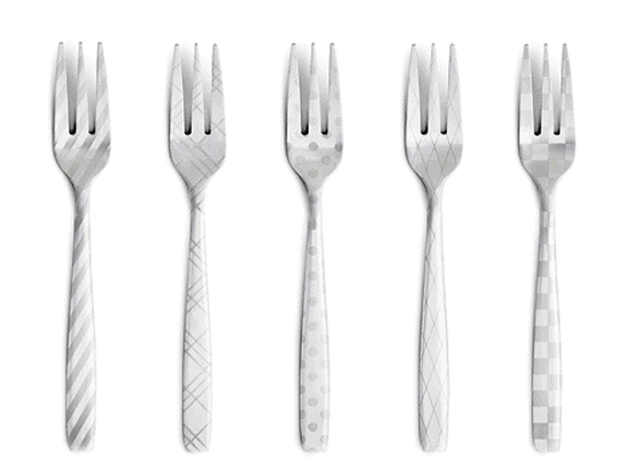 If it 39 s hip it 39 s here archives laser engraved stainless flatware in modern patterns dress - Contemporary stainless flatware ...