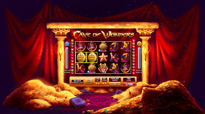 Cave of Wonders - Lucky Lady Casino Slot Machine 1
