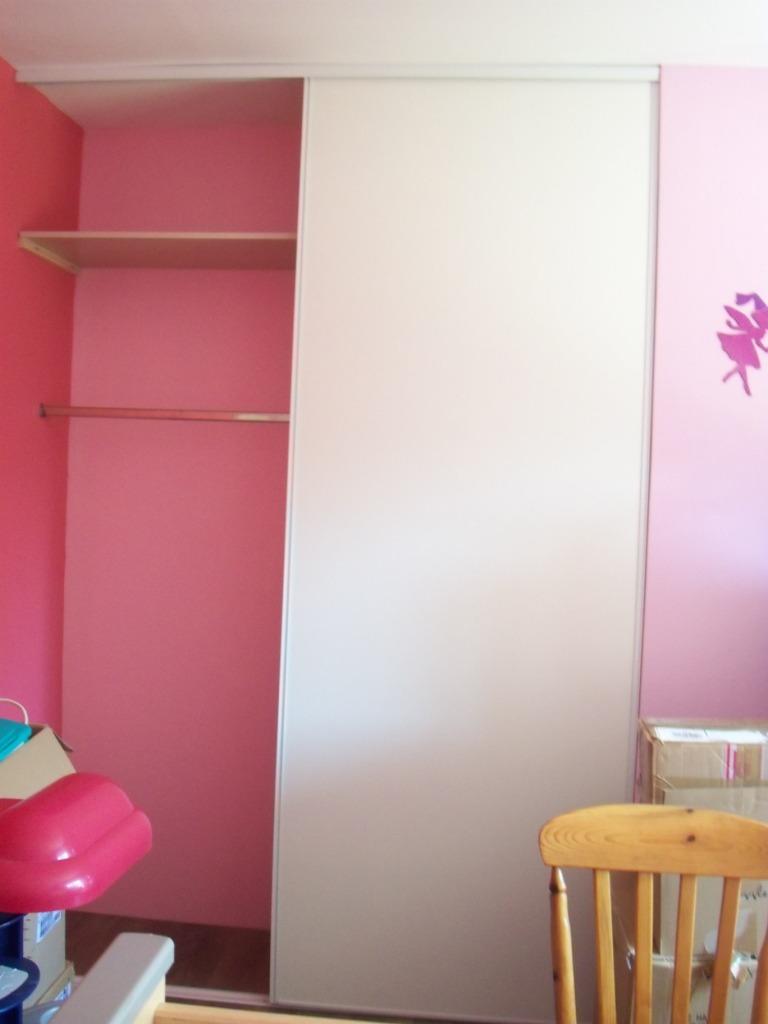 Notre construction 76 peinture cuisine et placard chambre - Peinture placard cuisine ...