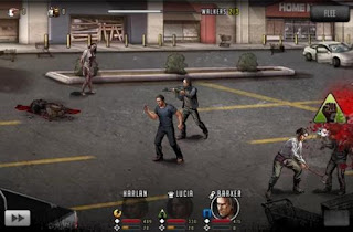 Screenshots of the The walking dead: Road to survival for Android tablet, phone.