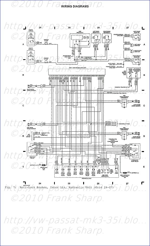 Volkswagen Passat 35i Mk3 Abs Teves on 2008 chevy silverado wiring diagram