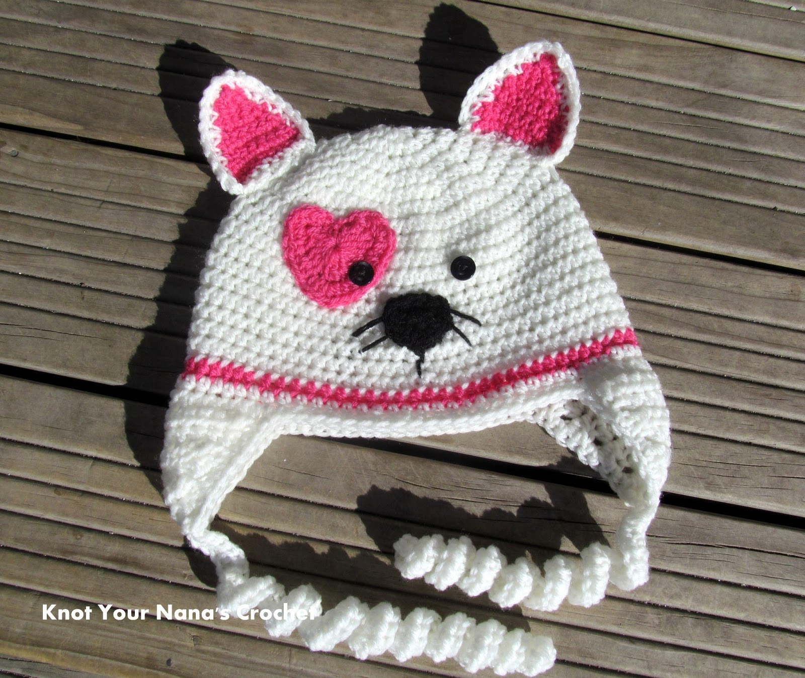 Free Crochet Patterns Childrens Animal Hats : crochet-kitty-hat-free-pattern