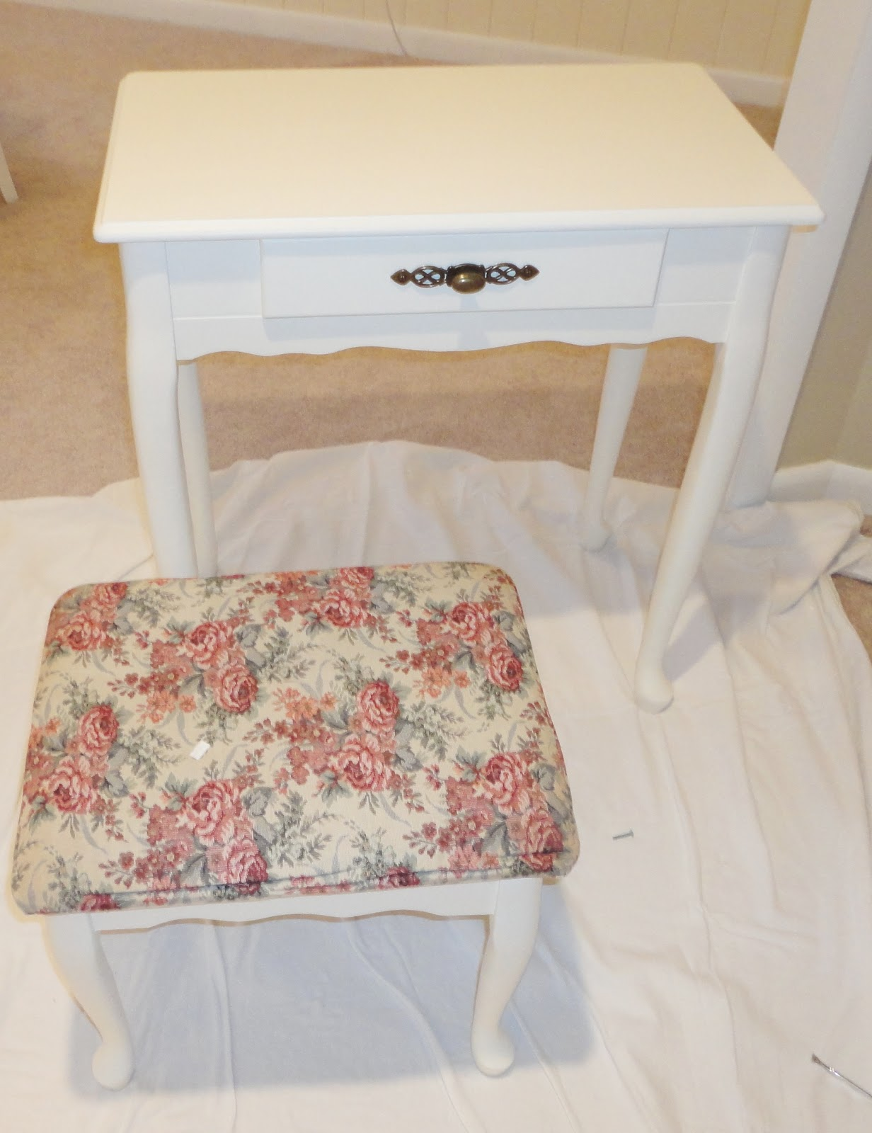 How to Stencil Furniture 1232 x 1600
