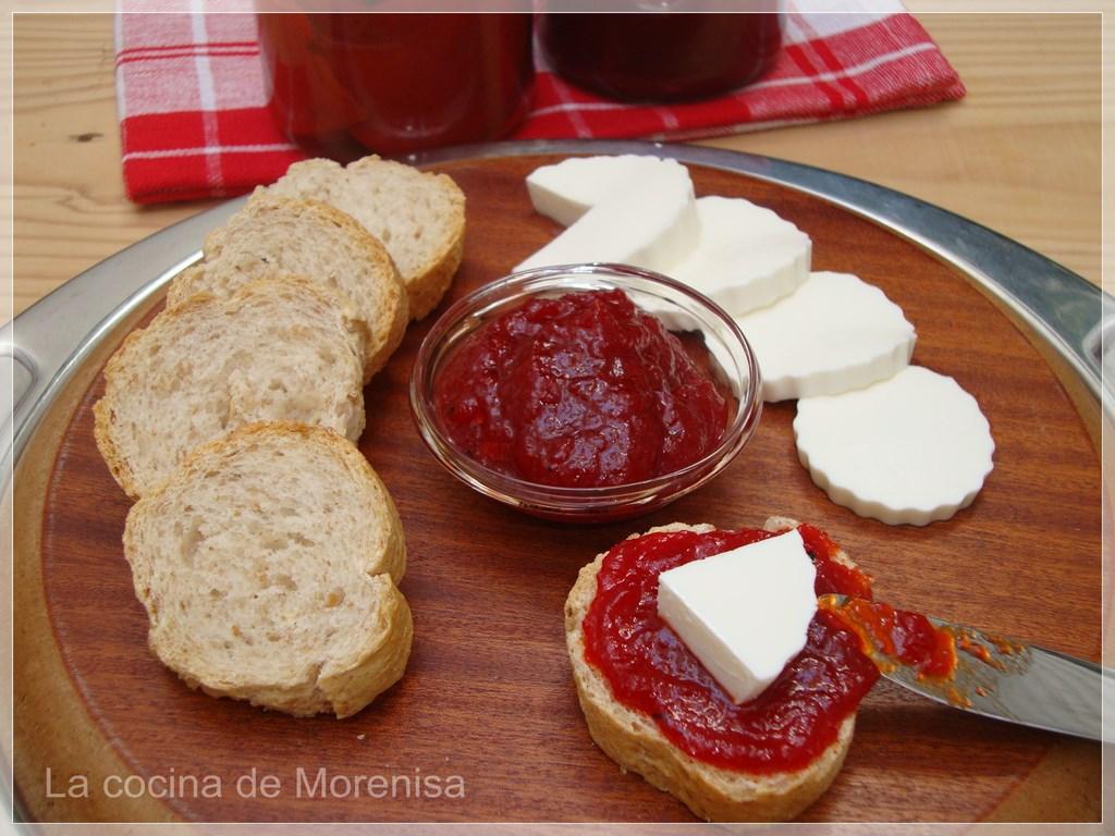 La cocina de morenisa mermelada de pimientos rojos asados - Mermelada de pimientos rojos ...