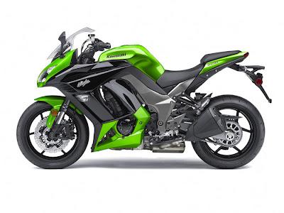 2012 Kawasaki Ninja 1000 motorcycle