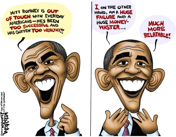 obama failure cartoons