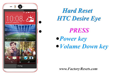 Hard Reset HTC Desire Eye