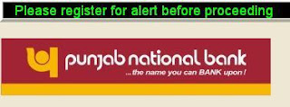PNB SMS Alert  Registration for Mobile Banking Service