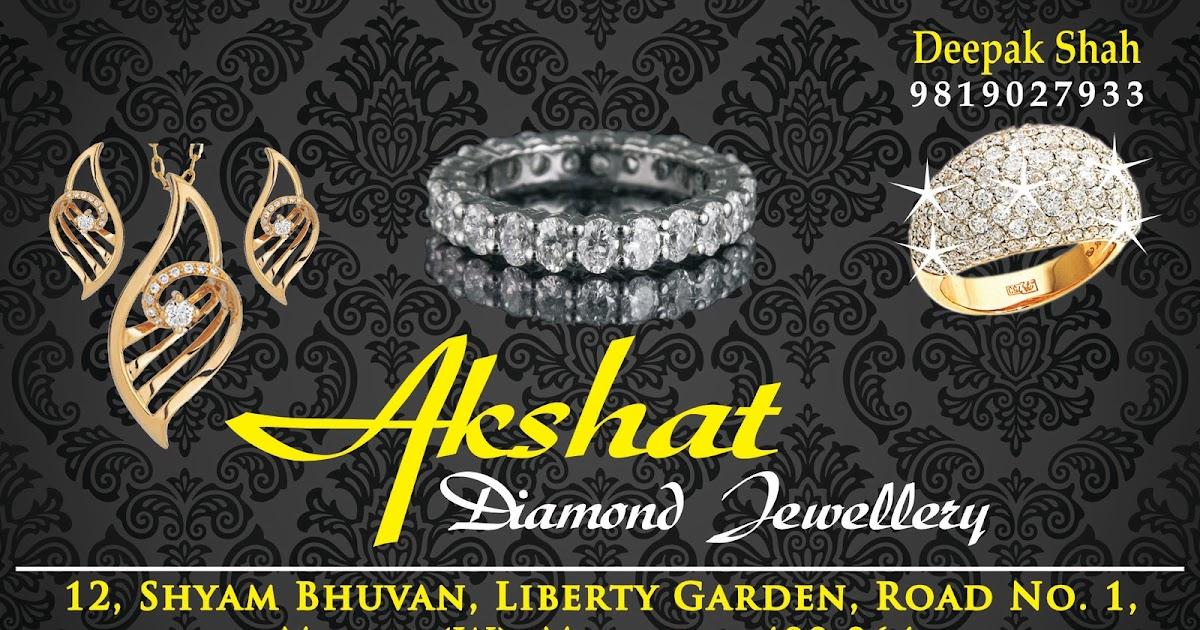 Creative Diamond Jewellery Business Card Design | Digital Printing ...