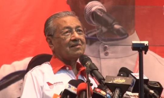 "Video: ""Tok Arab gila pun takkan bagi duit RM2.6 bilion tu,"" - Tun Mahathir"