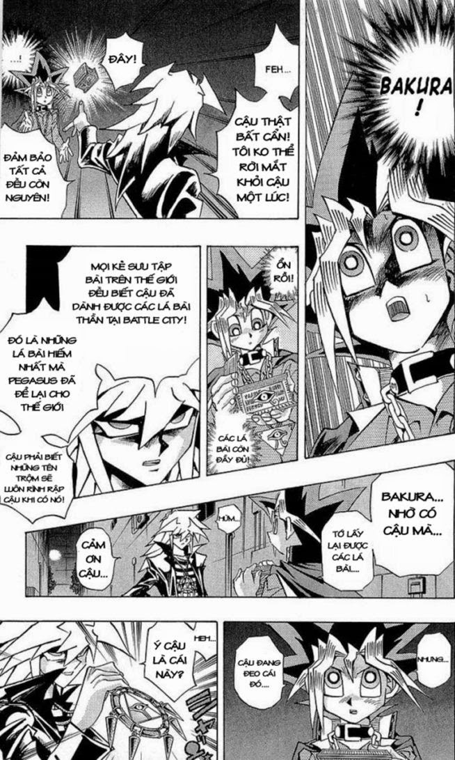 YuGi Oh – Vua Trò Chơi chap 280 Trang 17