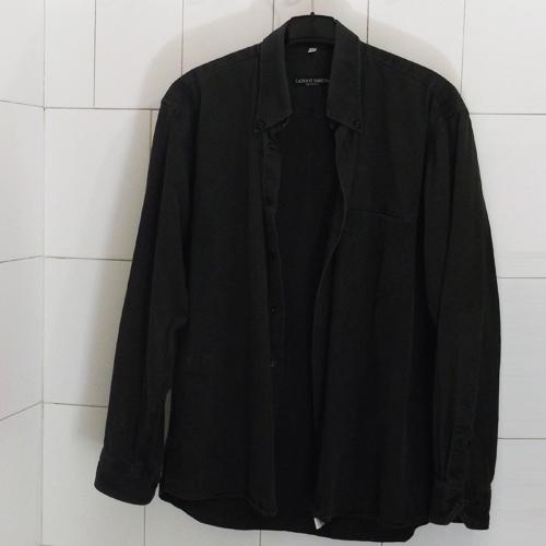 Lazoot Bakeba fekete férfi ing legombolható gallérral - Lazoot Bakebe férfi ing divat
