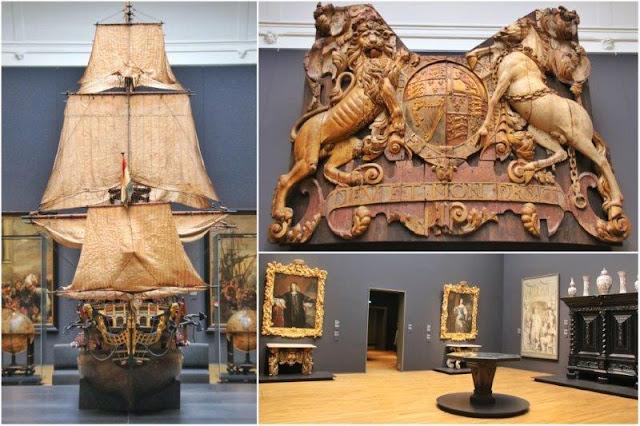Navio William Rex y galerías del Rijksmuseum en Amsterdam