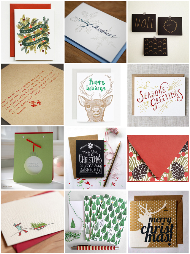 12 Christmas Cards - Dear Edna
