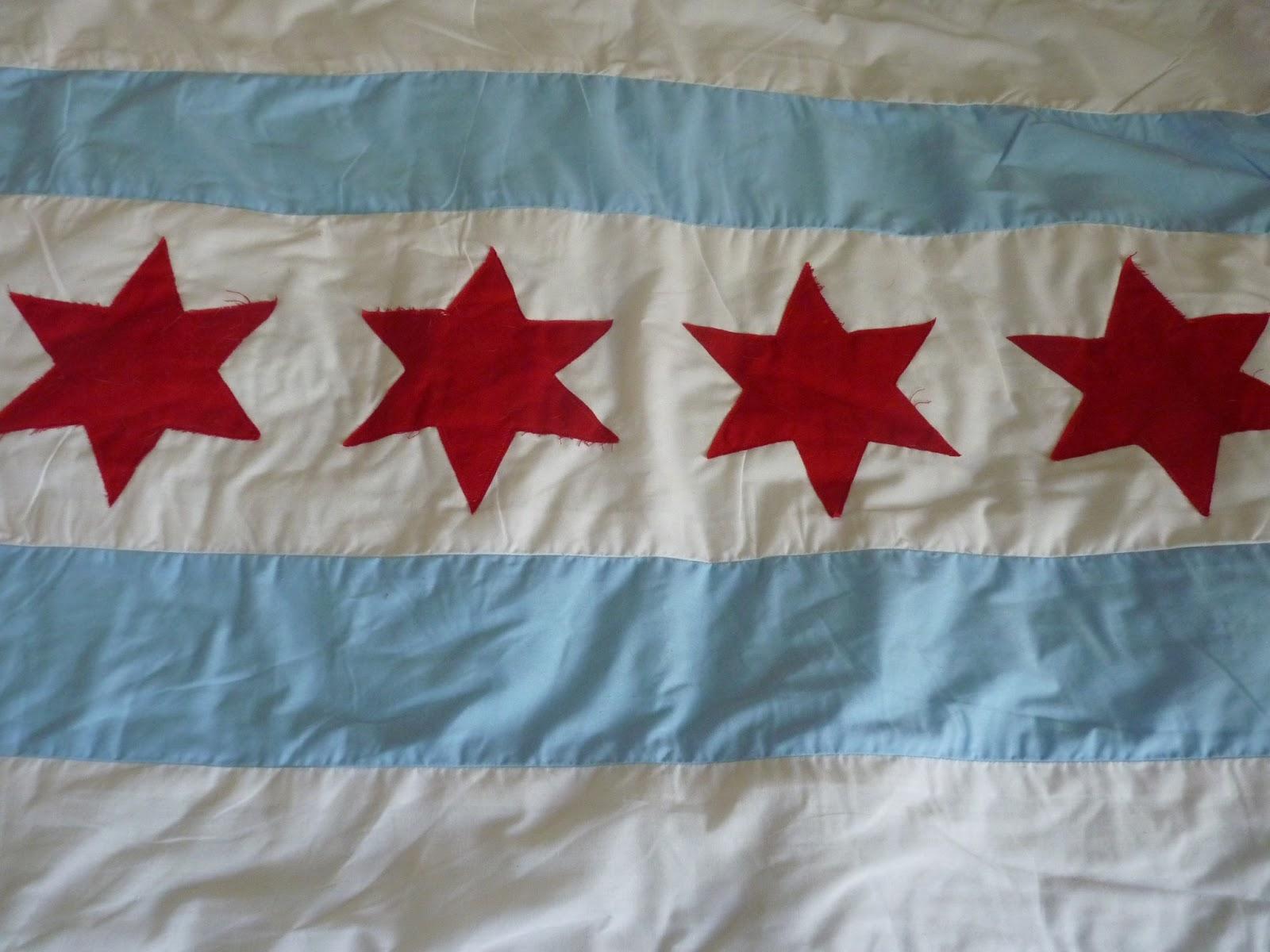 Porcupine Stew Chicago Flag