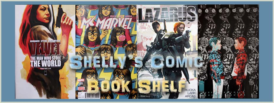 Shelly's Comic Book Shelf