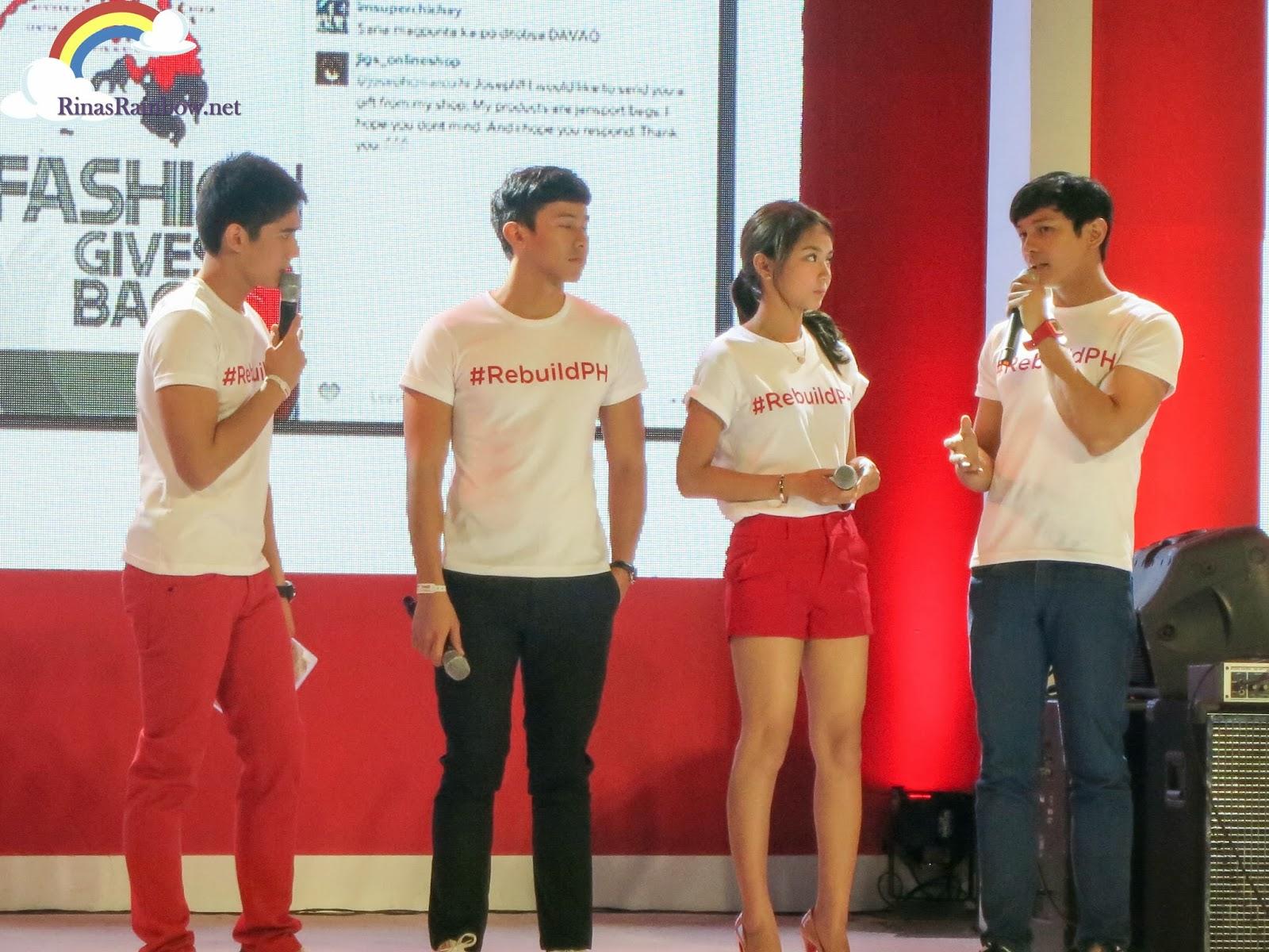 coca cola rebuildPH araneta coca cola ambassadors