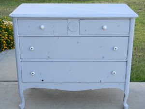 Antique Grey Dresser  *SOLD*