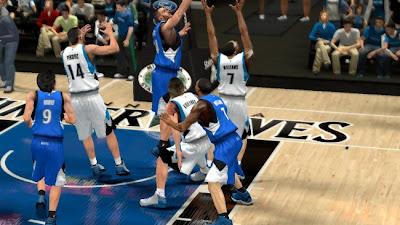 NBA 2K13 Minnesota Timberwolves Jersey Mods