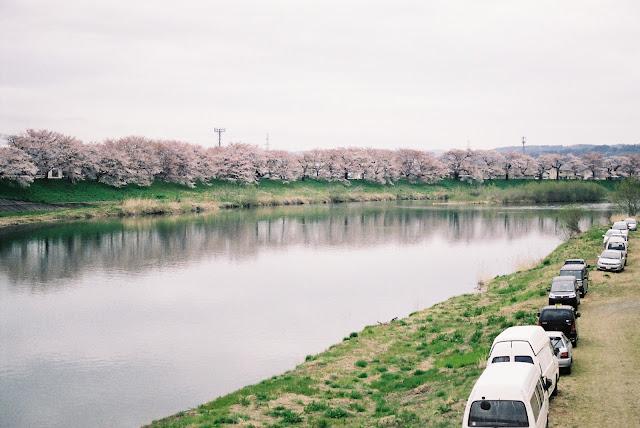 白石川 shiroishi river