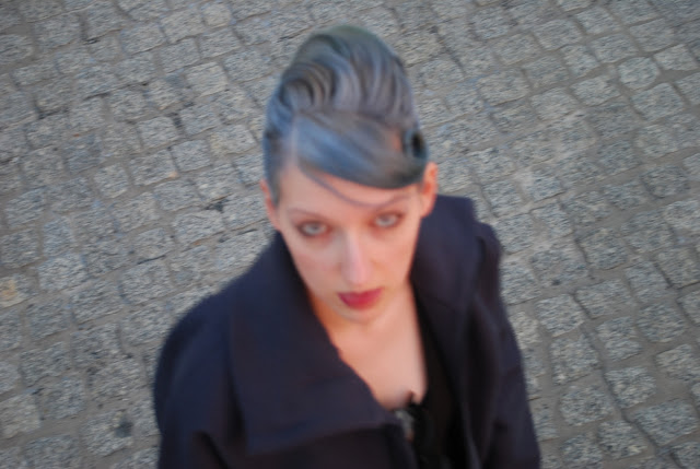 Grande Style Blue Grey Hair