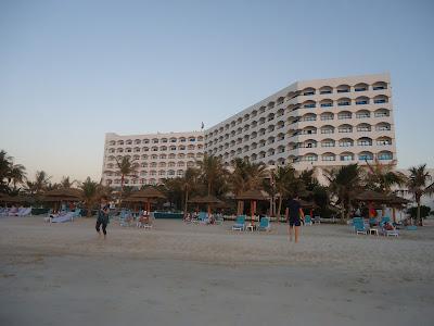 Kempinsky Hotel Ajman's beach