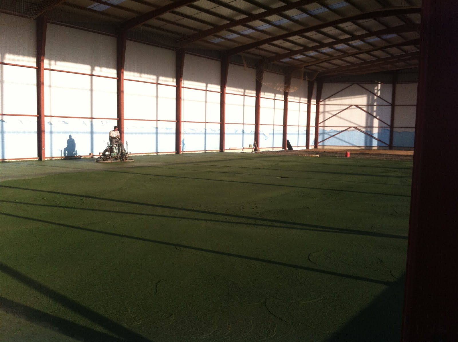 Bhetta pavimento pulido hormigon verde - Pavimento hormigon pulido ...