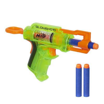 TOYS : JUGUETES - NERF N-Strike  GlowShot | Pistola - Blaster   Producto Oficial 2015-2016 | Hasbro B4615 | A partir de 8 años  Comprar en Amazon España & buy Amazon USA