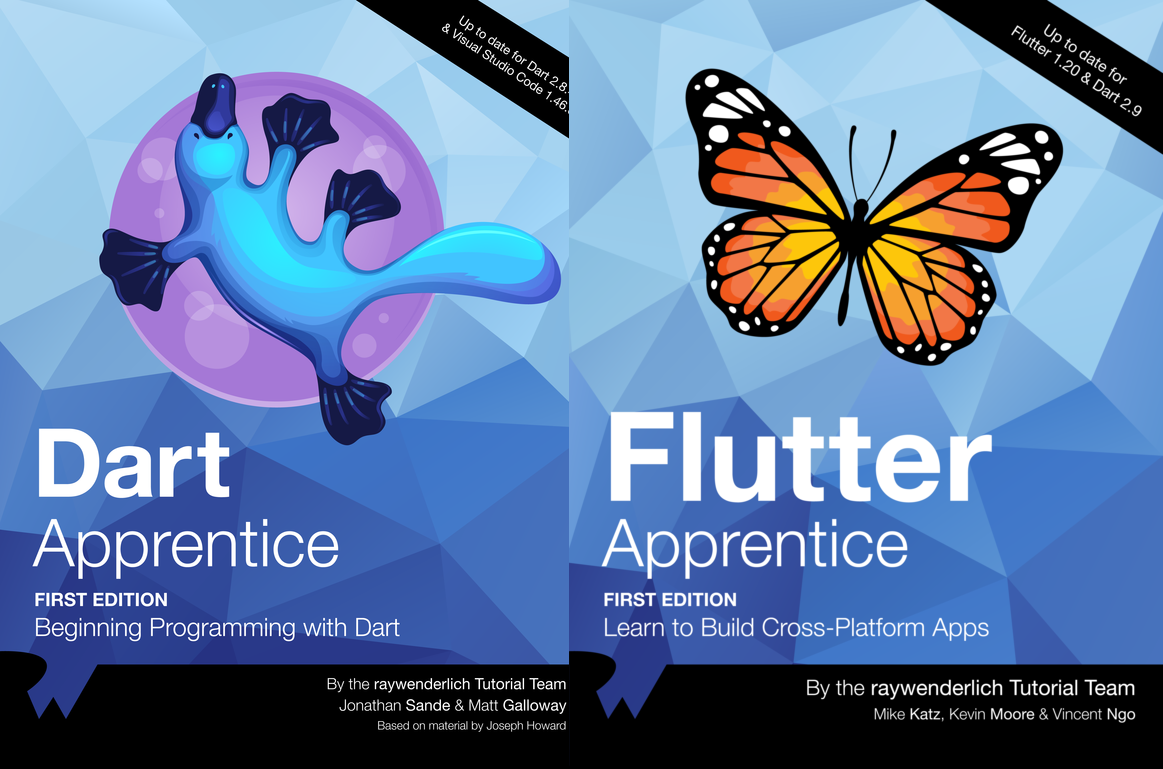 Flutter Bundle From Ray Wenderlich
