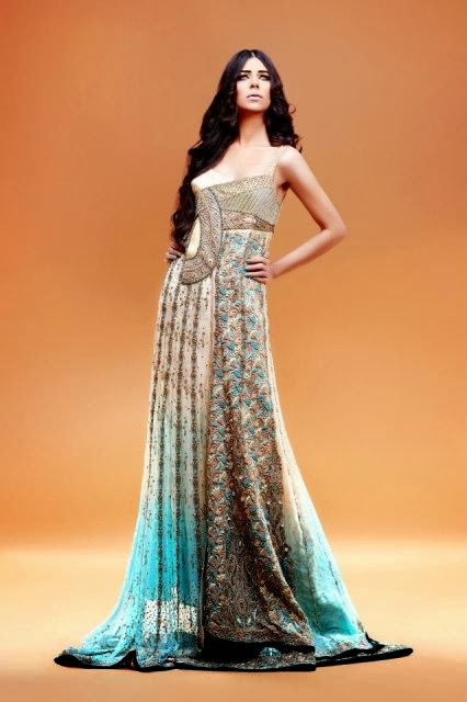 Dresses Women Collection 2013-2014   Erum Khan Dresses Women Collection 2013-2014 By Fashion She9