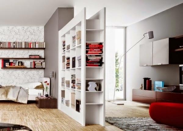 Aprende a dividir ambientes de madera moderna y vers til - Paneles para separar espacios ...