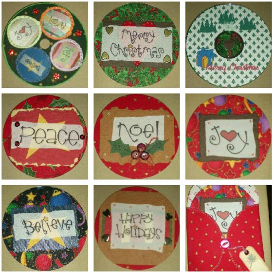 Soft Treasures: A creative life - Recycling old CD-Roms into Cards ...