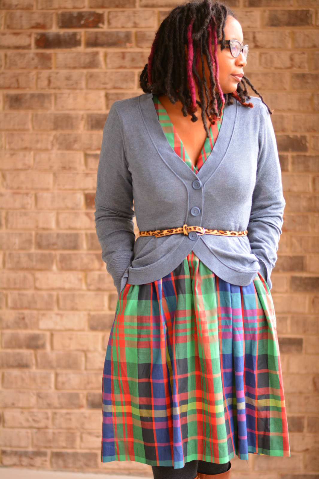 plaid skirt pinterest