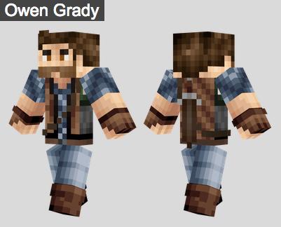 9. Owen Grady Skin