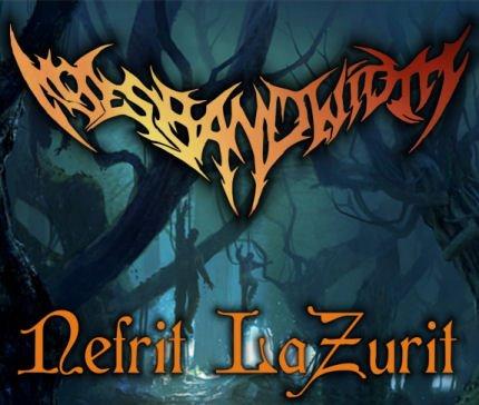 Traclisting Cover Album Nefrit Lazurit Moses Bandwidth