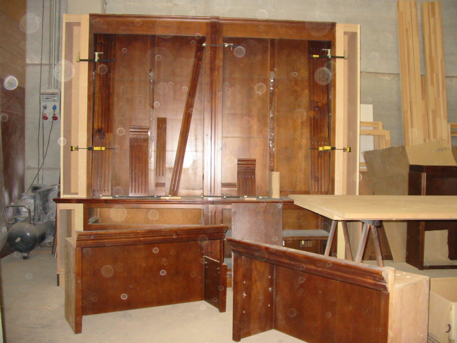Trabajos lmb muebles antiguos for Restaurar mueble antiguo a moderno