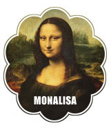 MONA LISA hypothesis, visual of the Mona Lisa painting.