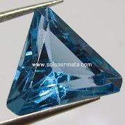 Batu Permata London Blue Topaz - kode 03k06