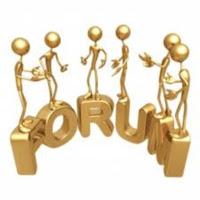 Participe de fóruns.