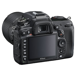 D7000 Dx Back View