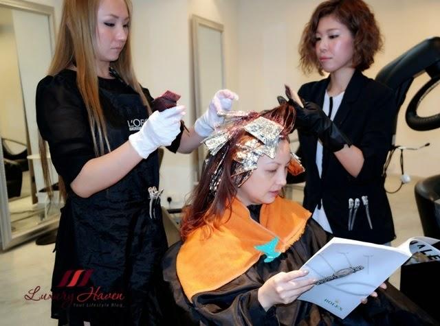 naoki yoshihara by ash hair salon orchard singapore