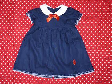 cute baby sailor dress