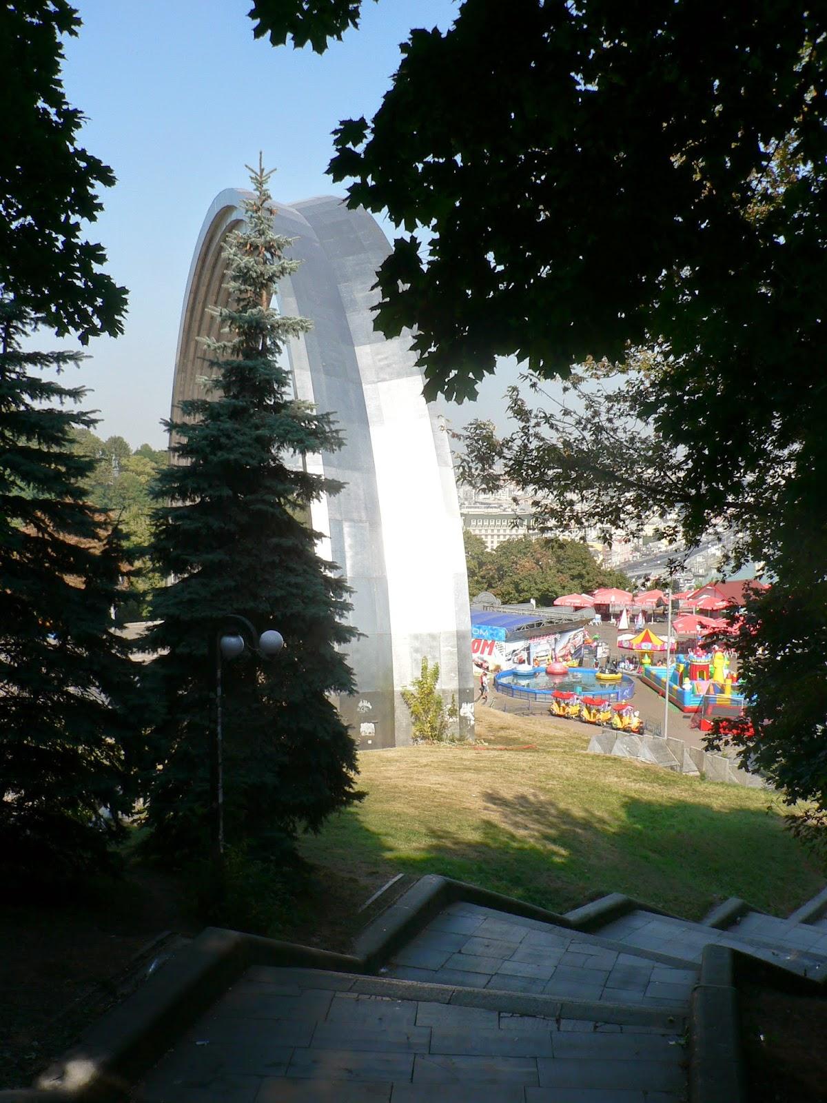 Арка-Дружбы-Народов-Киев