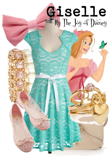 Giselle Enchanted, Disney Fashion Blog
