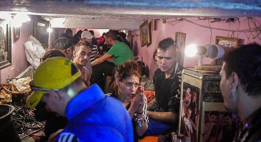 personas sin hogar en rumania
