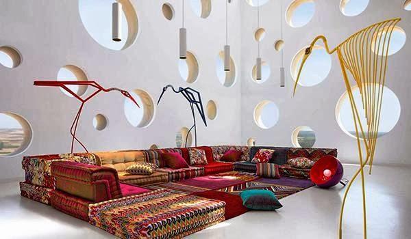 Desain Ruang Tamu Minimalis Tanpa Sofa
